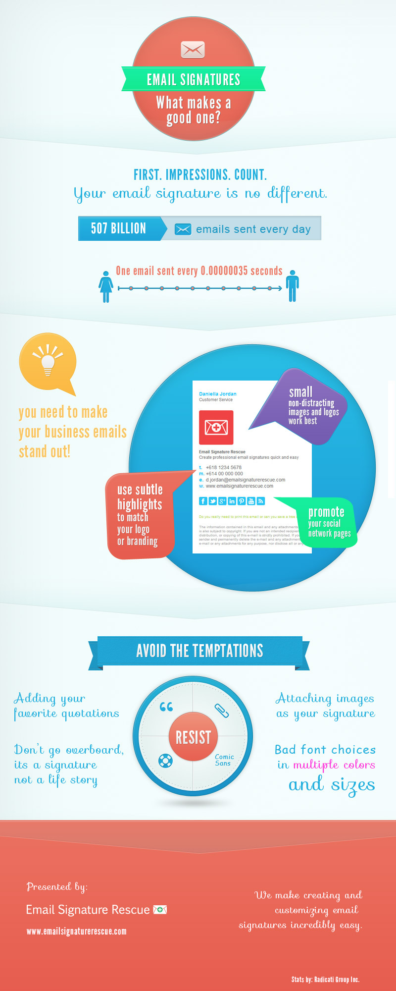 email signatures for your company  infographics